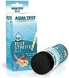 Mr. Petz Aqua Test - 60 x Optimierte Aquarium Teststreifen - 6in1 Schnelltest für...
