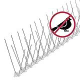 riijk 3 Meter Taubenabwehr Spikes vormontiert   Rostfreie Taubenschreck Vogelspikes  ...