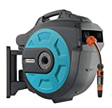 Gardena Comfort Wand-Schlauchbox 25 roll-up automatic: Schwenkbare Schlauchtrommel,...