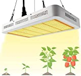 LED Pflanzenlampe 1000W Grow Lampe Pflanzenlicht Vollspektrum Derlights LED Grow...