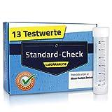 Labor-Wassertest Standard – 13 Testwerte – für Trinkwasser und Leitungswasser...