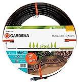 Gardena Start-Set Tropfrohr für Pflanzenreihen unterirdisch 13.7 mm: Wassersparender...
