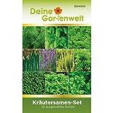 Kräutersortiment | Kräuter-Set mit 10 Sorten Samen | Kräutersamen-Sortiment |...