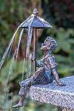 IDYL Rottenecker Bronze-Skulptur Flo wasserspeiend | 28x17x10 cm | Wasserspeier...