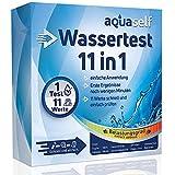 aquaself 11in1 Wassertest: Wasserteststreifen für Trinkwasser, Pool, zu Hause,...