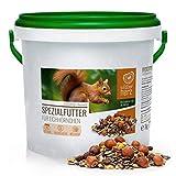 wildtier herz | Eichhörnchenfutter 1 kg für Eichhörnchen und Streifenhörnchen –...
