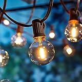[26 LED Version] Lichterkette Außen,9 Meter 26 Glühbirnen OxyLED G40 LED Garten...