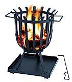 tepro 1076 Feuerstelle Feuerkorb Brentwood, schwarz (36 x 36 x 45 cm)