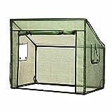 Siena Garden Gewächshaus für Hochbeet, grün, 405431
