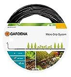 Gardena Micro-Drip-System Tropfrohr oberirdisch 4.6 mm (3/16 Zoll): Tropfschlauch zum...