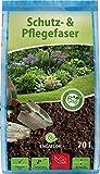 ENGAFLOR Schutz- & Pflegefaser, Mulch, Abdeckfaser, Gartenfaser 1 Sack a' 70 Liter
