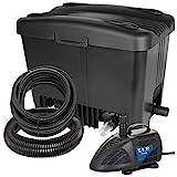 T.I.P. Teichaußenfilter WDF 10000 UV 11, UV-C 11 Watt, für Teiche bis zu 10.000...