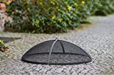 BlackOrange Funkenschutzhaube 59 cm Durchmesser aus Siebgewebe für Feuerschalen mit...