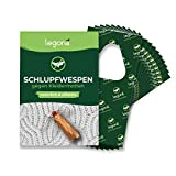 Legona® - Schlupfwespen gegen Kleidermotten / 15x Trigram-Karte à 5...