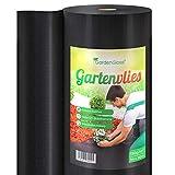 GardenGloss® 50m² Unkrautvlies Gartenvlies 150g/m² Extra Stark gegen Unkraut –...
