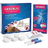 Gerobug® Die Schaben-Lösung Komplettpaket zur Schaben-Bekämpfung + 2 x...