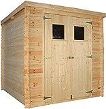 TIMBELA Holzhaus Gartenhaus M309+M309G - Gartenschuppen Holz mit Boden Imprägnierte...
