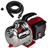 Einhell Gartenpumpen-Set GC-GP 1046 N Set (1000 W, max. 4600 L/h, 4.5 bar, max. 45 m...