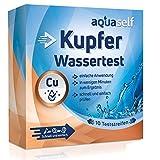 aquaself Wassertest Kupfer: 10 Teststreifen zum Nachweis von Kupfer im Wasser. Ideal...