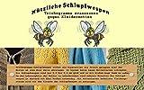 Vgo... Schlupfwespen 4 Kärtchen a 2000 Stück zur Bekämpfung von Kleidermotten 6...