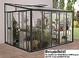 Gartenwelt Riegelsberger Anlehngewächshaus Helena - Ausführung: 11900 Kombi ESG 4...
