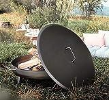 Czaja Feuerschalen® Deckel für alle Feuerschalen ; einfaches Ablöschen der...