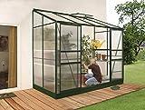 Gartenwelt Riegelsberger Anlehngewächshaus Ida - Ausführung: 3300 HKP 4 mm...