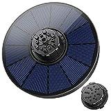 OKMEE Solar Springbrunnen mit 7 Effekte, 1.8W Solar Wasserpumpe 2021 Upgrade, Solar...