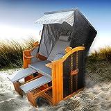 BRAST Strandkorb Deluxe 2-Sitzer XXL für 2 Personen 120cm breit mehrere Designs...