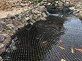 AquaOne Teichabdecknetz 3x4,2m Teichnetz Teichschutz Fischreiher Laubschutz...
