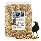 wildtier herz | Vogeltraum Amselfutter Spezial mit Beeren und Früchte - Premium...