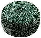 Meister Vogelschutznetz 8 x 8 m - grün - 12 x 12 mm Maschenweite - Robustes Gewebe -...