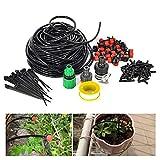 JOYOOO 25m Automatisch Gartenpflanze Gewächshaus Bewässerungssystem