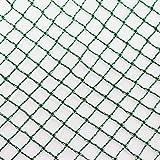 Aquagart® Teichnetz, 12m x 10m, dunkelgrün, beonders engmaschig: Maschenweite 12mm...