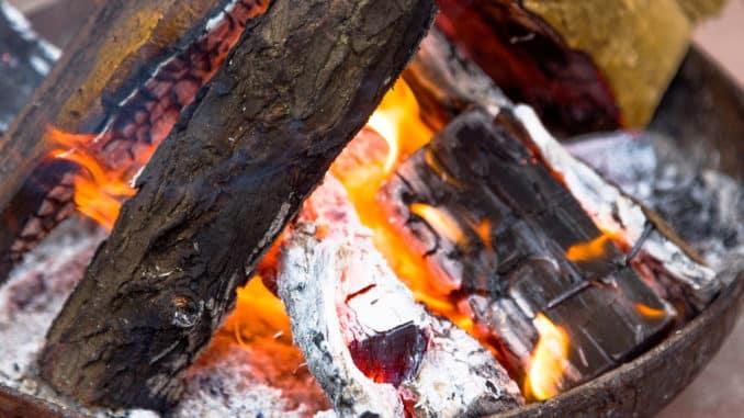 Feuerschale Unterlage