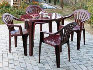 Gartenstühle aus Kunststoff