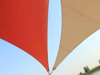 Sonnensegel als Sonnenschutz