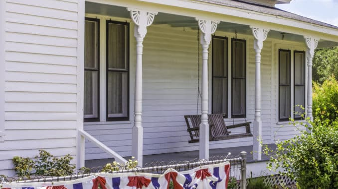 Veranda statt Terrasse