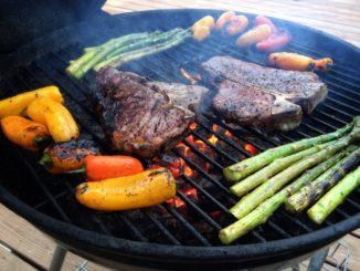 BBQ mit Gemüse