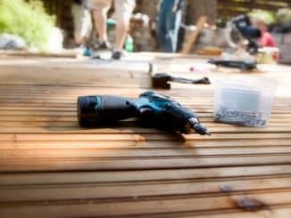 Bau einer Holzterrasse