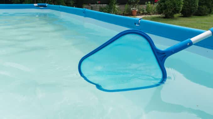 Pool sauber halten